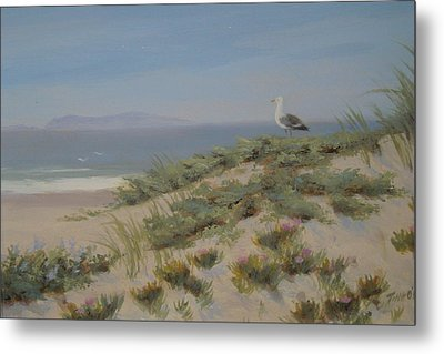 King Of The Beach Metal Print by Tina Obrien