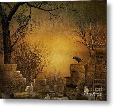 King Of The Ruins Metal Print by Bedros Awak