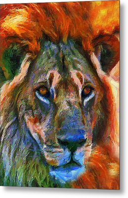King Of The Wilderness Metal Print by Georgiana Romanovna