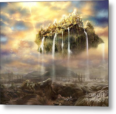 Kingdom Come Metal Print by Tamer and Cindy Elsharouni