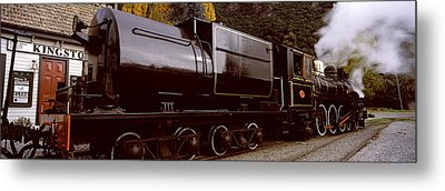 Kingston Flyer Vintage Steam Train Metal Print by Panoramic Images