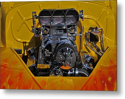 Kinsler Fuel Injection Metal Print by Mike Martin