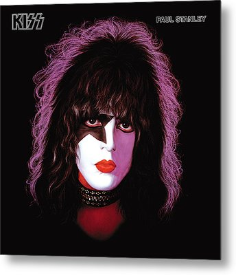 Kiss - Paul Stanley Metal Print by Epic Rights