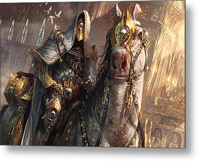 Knight Of Obligation Metal Print by Ryan Barger