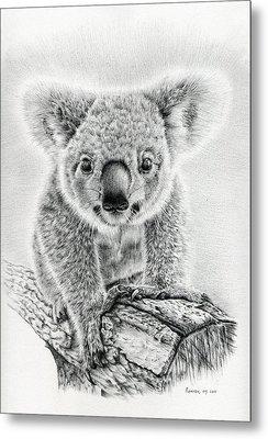 Koala Oxley Twinkles Metal Print by Remrov