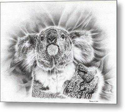 Koala Roto Princess Metal Print by Remrov
