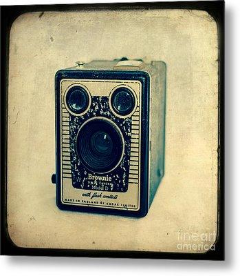 Kodak Brownie Metal Print by Sonja Quintero