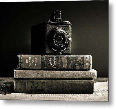 Kodak Brownie Special Six-16 Metal Print by Jon Woodhams