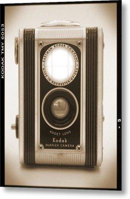 Kodak Duaflex Camera Metal Print by Mike McGlothlen