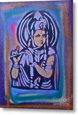 Krishna 2 Metal Print by Tony B Conscious