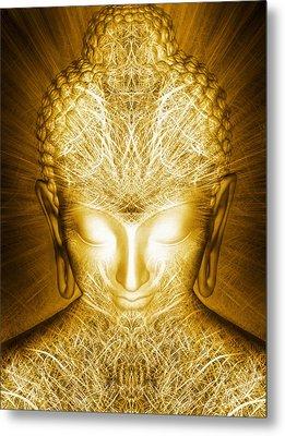 Kundalini Awakening Metal Print by Jalai Lama