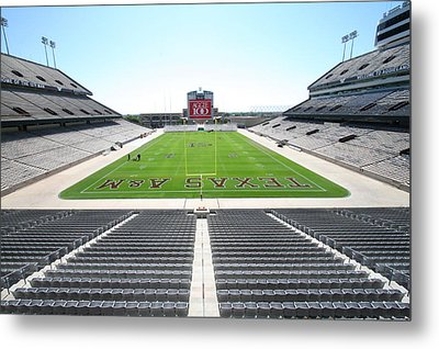 Kyle Field Metal Print by Georgia Fowler