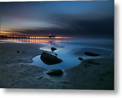 La Jolla Sunset 7 Metal Print by Larry Marshall