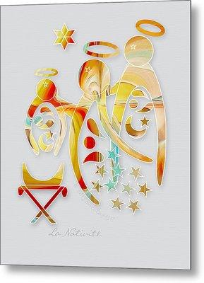 La Nativite Metal Print by Gayle Odsather