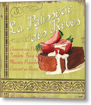 La Patisserie Des Reves 2 Metal Print by Debbie DeWitt