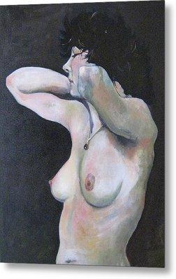 La Perle Noire Metal Print by Ray Agius