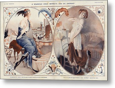 La Vie Parisienne 1922 1920s France Leo Metal Print by The Advertising Archives