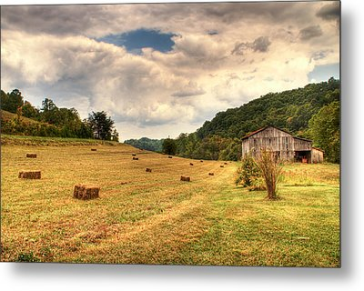 Lacy Farm Morgan County Kentucky Metal Print by Douglas Barnett
