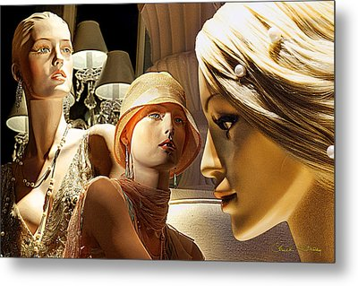 Ladies Of Rodeo Drive Metal Print by Chuck Staley