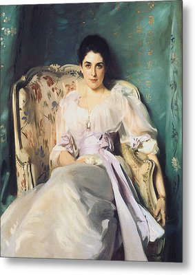 Lady Agnew Of Lochnaw Metal Print by John Singer Sargent