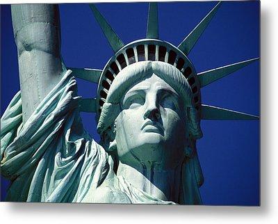 Lady Liberty Metal Print by Jon Neidert