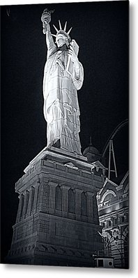 Lady Liberty Metal Print by Kay Novy