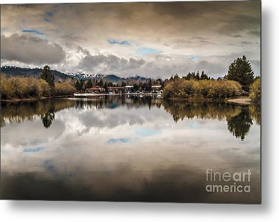 Lagoon At Cove East Metal Print by Mitch Shindelbower