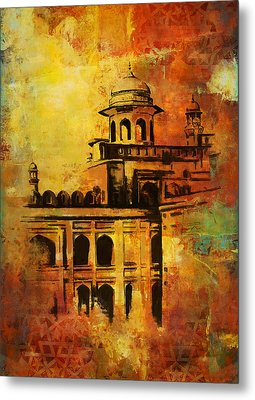 Lahore Fort Metal Print by Catf