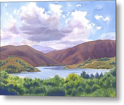 Lake Hodges San Diego Metal Print by Mary Helmreich
