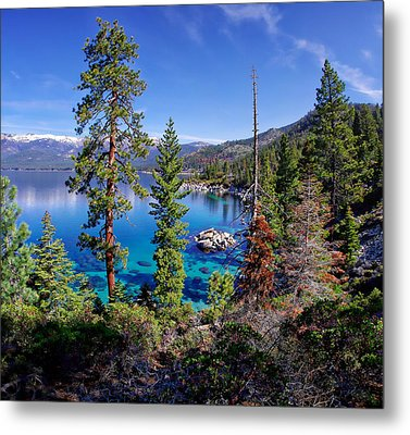 Lake Tahoe Eastern Shore Metal Print by Scott McGuire