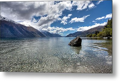 Lake Wakatipu Metal Print by Shari Mattox