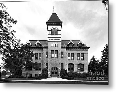 Lakeland College Old Main Hall Metal Print by University Icons