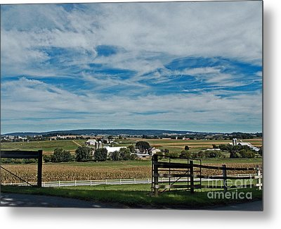 Lancaster County Metal Print by Skip Willits