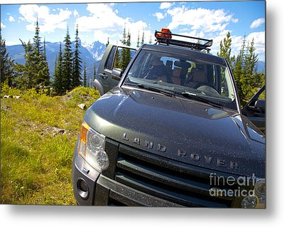 Land Rover Metal Print by Graham Foulkes
