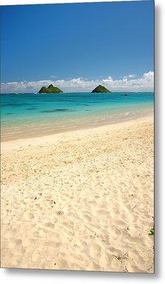 Lanikai Beach 2 - Oahu Hawaii Metal Print by Brian Harig
