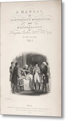 Lardner's Manual (1841) Metal Print by King's College London