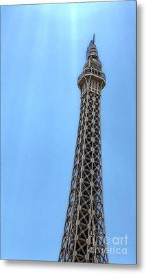 Las Vegas - Paris Metal Print by Gregory Dyer