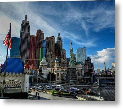 Las Vegas 051 Metal Print by Lance Vaughn