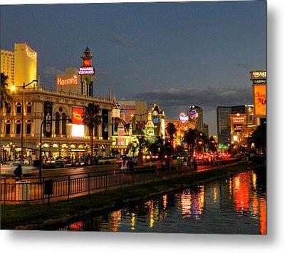 Las Vegas 36 Metal Print by Lance Vaughn