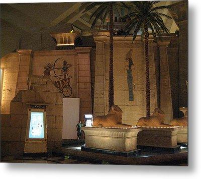 Las Vegas - Luxor Casino - 12123 Metal Print by DC Photographer