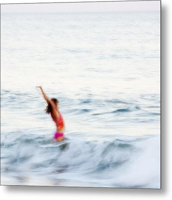 Last Days Of Summer Metal Print by Carol Leigh
