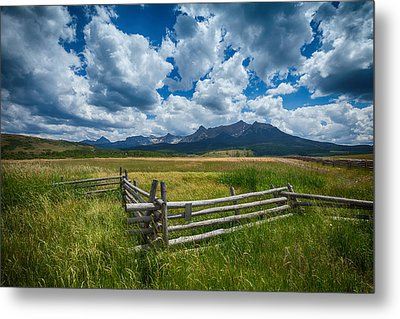 Last Dollar Ranch Metal Print by Darren  White