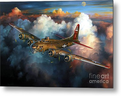 Last Flight For Nine-o-nine Metal Print by Randy Green