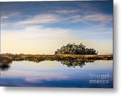 Late Day Hammock Metal Print by Marvin Spates