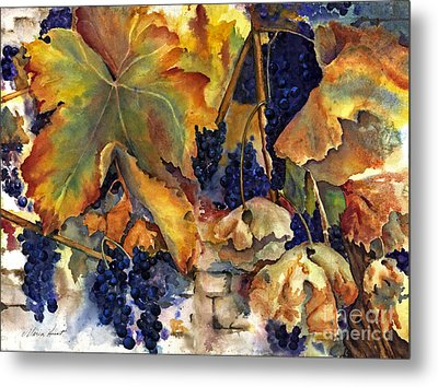 The Magic Of Autumn Metal Print by Maria Hunt