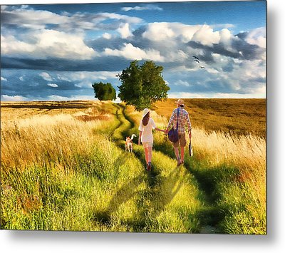 Lazy Summer Afternoon Metal Print by Tom Schmidt