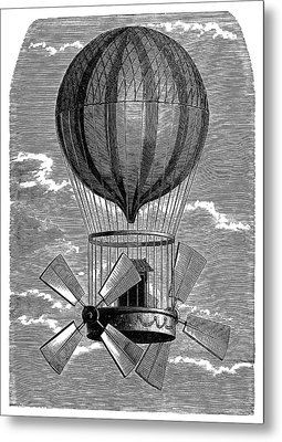 'le Comte D'artois' Balloon Metal Print by Science Photo Library