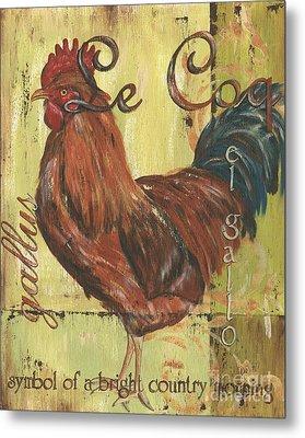 Le Coq Metal Print by Debbie DeWitt
