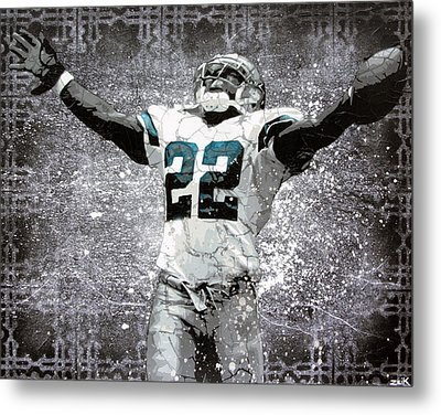 Leader Of The Cowboys Metal Print by Bobby Zeik