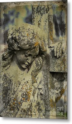 Lean On Me Metal Print by Terry Rowe